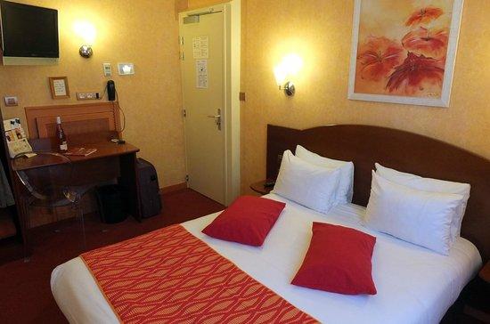 Hotel De Champagne : la chambre