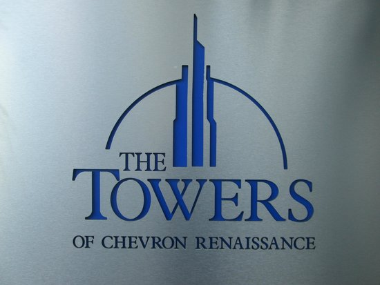 Mantra Towers of Chevron: Entrance sign