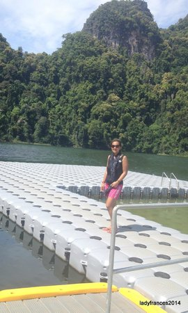 Island Hopping Tour with Ana, Langkawi : Pulao Bunting Lake