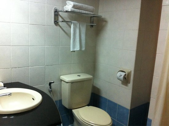 Seafest Hotel: The toilet