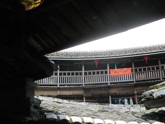 Gaobei Tulou Compound: view on hakkan house