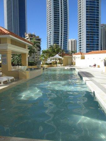 Mantra Towers of Chevron: Lap pool