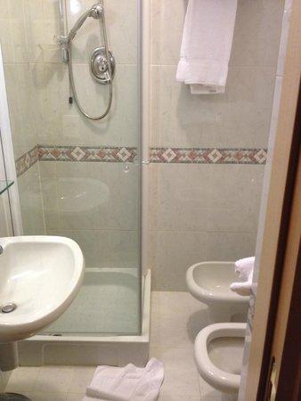 Minerva Hotel: bagno
