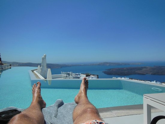 Grace Santorini Hotel : pool view