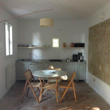 Villa Lena: kitchen in our apartment