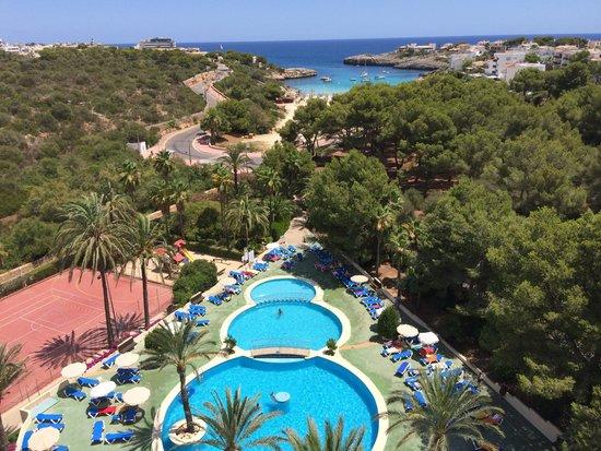 Cala Marsal: View from balcony