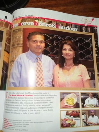Spice Club Indian Brasserie: The Owners: James & Alisha Khare