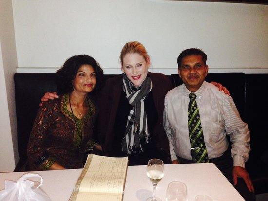 Spice Club Indian Brasserie: Lauren Jackson, the greatest basketball player of Australia, dining at The Serve.