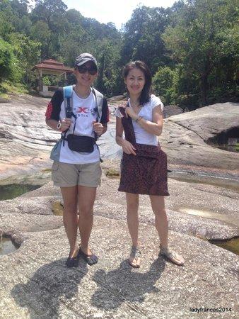 Telaga Tujuh Waterfalls: Telagah Tujuh