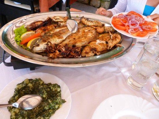 Gostionica Mareta : grigliata di pesce misto