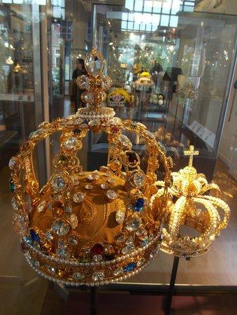 Diamant Museum Amsterdam: Una corona d'oro e diamanti