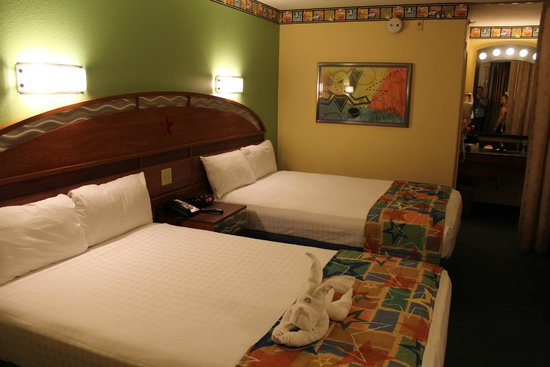 Disney's All-Star Movies Resort: A welcome site after a long day in the park.