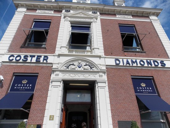 Diamant Museum Amsterdam: Outside