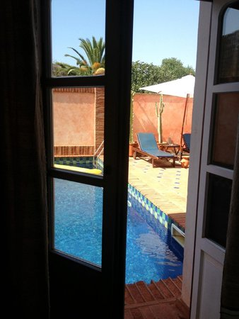 Casa da Moura: можно прыгнуть в бассейн)