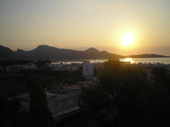 FERGUS Style Pollensa Park SPA: view from room 506 at sunrise