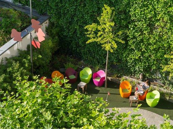 art & business Hotel: Garten
