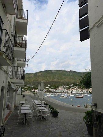 Hotel Playa Sol: Maravillosa vista a la terraza del bar