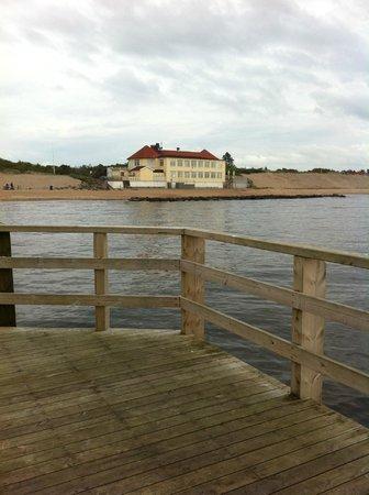 Klitterhus Havsbadshotell: Hotel on the beach