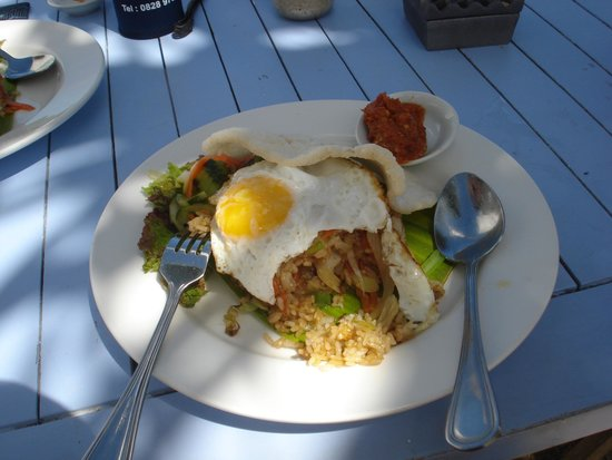 Sandy Bay Beach Club : Nasi Goreng - the business!