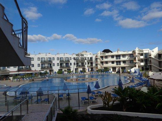 Rubimar Suite ApartHotel: Aparthotel zona piscina
