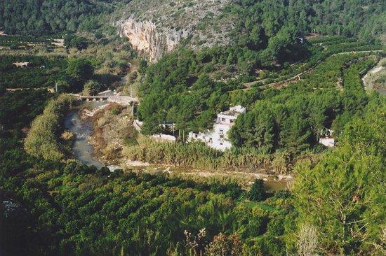 Rótova, España: Vista panorámica Valle del Vernissa