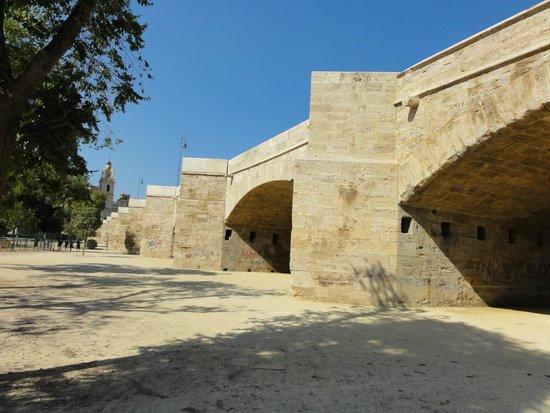 Antiguo Cauce del Rio Turia: Pont de Real, Valencia (photo by Lenka Krivankova)