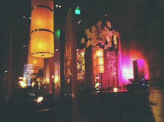 100 Century Avenue Restaurant: the ceiling