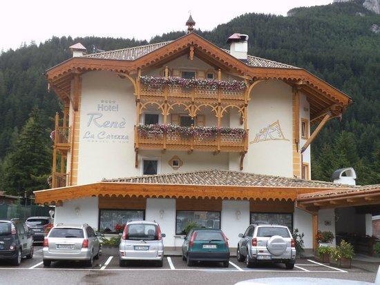 Hotel Rene : Vista esterna