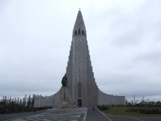 Église d'Hallgrimur (Hallgrimskirkja) : la Hallgrimskirkja
