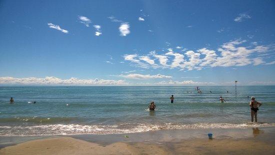 Eurovil Garni: saubere Strände, schönes Meer...