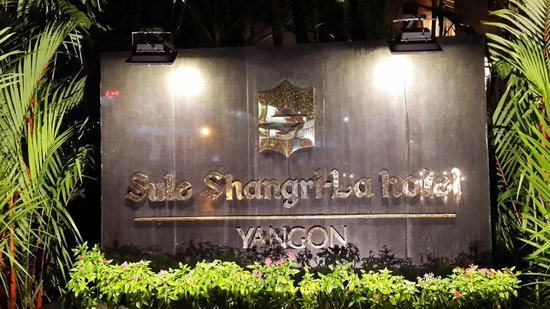 Sule Shangri-La Yangon : New name of the hotel