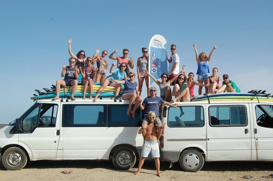 Jah Shaka Surf and Kite Lodge: back from surf