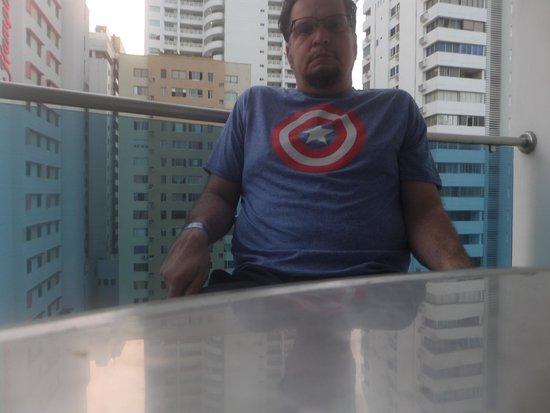 Atlantic Lux Hotel: balcony