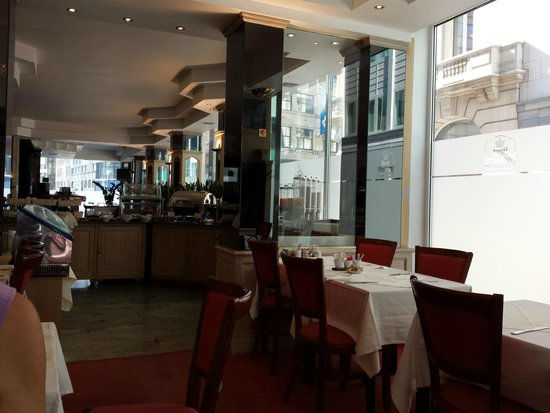 BEST WESTERN Hotel Royal Centre : Sala colazione