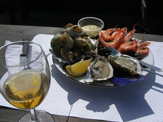 Le Grand Herbet: Petit plateau de fruits de mer