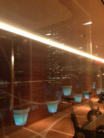 citizenM New York Times Square: View from Gym