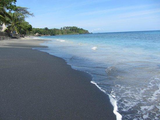 Qunci Villas Hotel: Playa