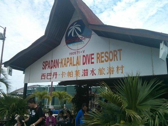 Sipadan Kapalai Dive Resort: Пирс в Семпорна