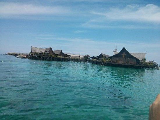 Sipadan Kapalai Dive Resort: Подьезжаем