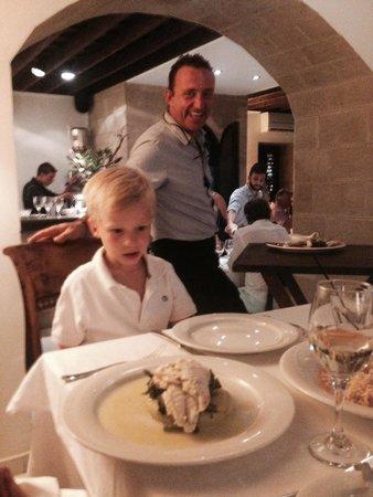 Ambrosia Restaurant: Hier werden auch Klein erstklassig bedient!