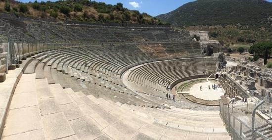 Magical Steps Travel: Ephesus - HUGE amphitheatre