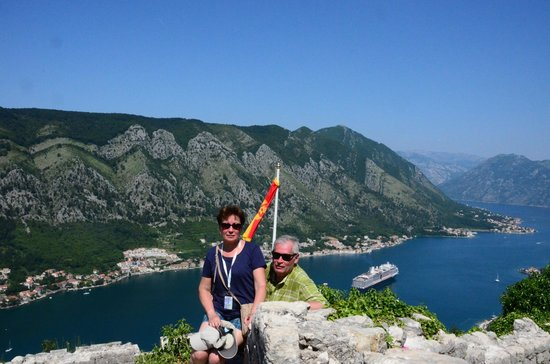 Kotor Bay Tours: View of the Bay of Kotor.