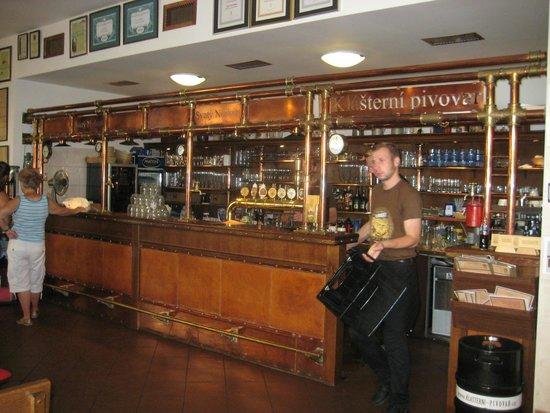 Strahov Monastic Brewery: im Lokal