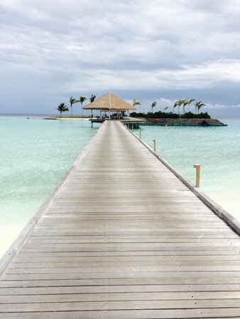 COMO Maalifushi, Maldives : The walk to snorkel