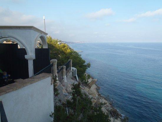 Pueblo Acantilado Suites: Aussicht vom Balkon