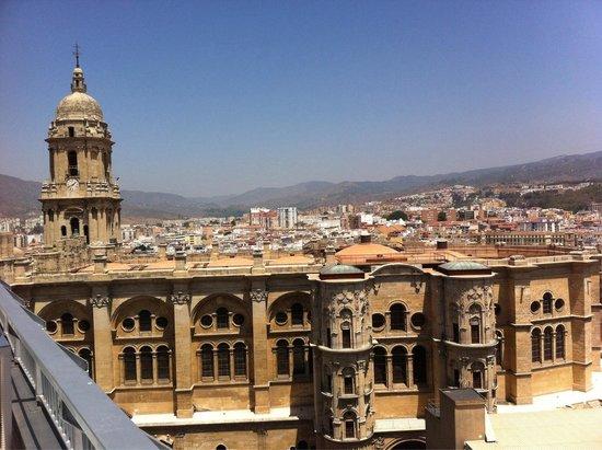 AC Hotel Malaga Palacio : Vistas catedral Málaga