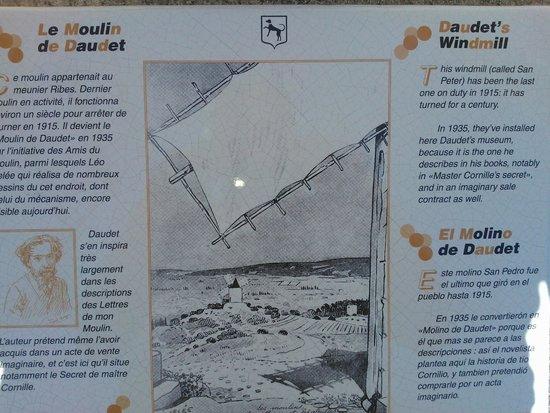 Moulin de Daudet: Info notice