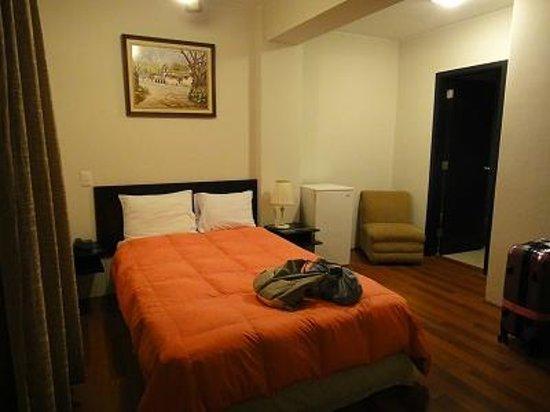 Hotel Santa Cruz: お部屋。