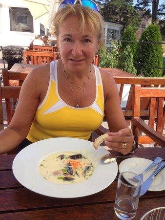 Strand Hotel Fevik Restaurant