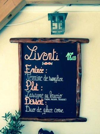 Le Time: Menu Liventi 18€ / StephHKM 28juillet2014